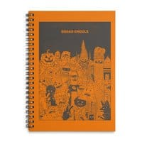 Squad Ghouls - spiral-notebook - small view