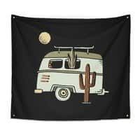 Van Life - indoor-wall-tapestry - small view
