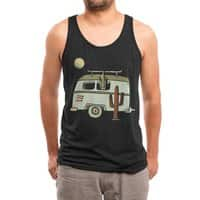 Van Life - mens-triblend-tank - small view