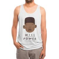 will power - mens-triblend-tank - small view