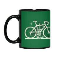 Bike City Map - black-mug - small view