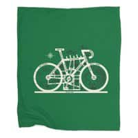 Bike City Map - blanket - small view