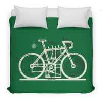 Bike City Map - duvet-cover - small view