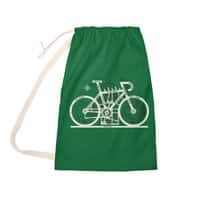 Bike City Map - laundry-bag - small view