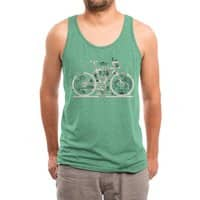 Bike City Map - mens-triblend-tank - small view