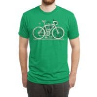Bike City Map - mens-triblend-tee - small view