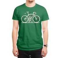 Bike City Map - mens-regular-tee - small view