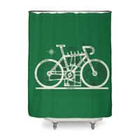 Bike City Map - shower-curtain - small view