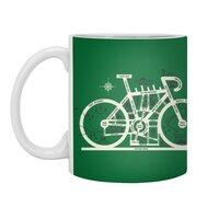 Bike City Map - white-mug - small view