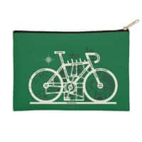 Bike City Map - zip-pouch - small view