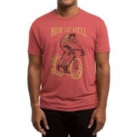 Ride like Hell - mens-triblend-tee - small view