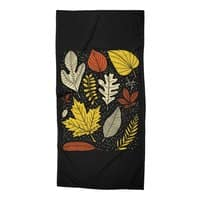 Simply Leaves - beach-towel - small view