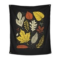 Simply Leaves - indoor-wall-tapestry-vertical - small view