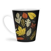 Simply Leaves - latte-mug - small view