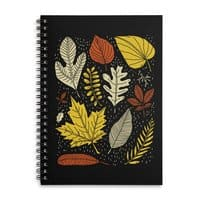 Simply Leaves - spiral-notebook - small view