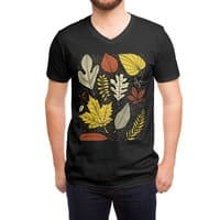 Simply Leaves - vneck - small view