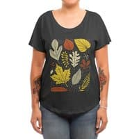 Simply Leaves - womens-dolman - small view