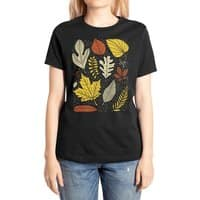 Simply Leaves - womens-extra-soft-tee - small view