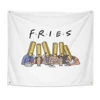 Fries - indoor-wall-tapestry - small view