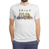 Fries - mens-triblend-tee - small view
