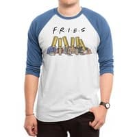 Fries - triblend-34-sleeve-raglan-tee - small view