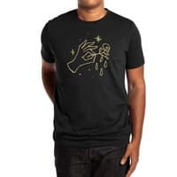 The Black Flower - mens-extra-soft-tee - small view