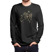 The Black Flower - mens-long-sleeve-tee - small view
