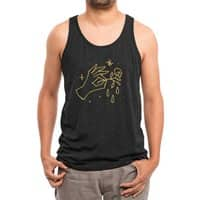 The Black Flower - mens-triblend-tank - small view