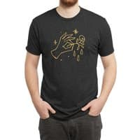 The Black Flower - mens-triblend-tee - small view