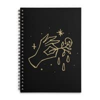 The Black Flower - spiral-notebook - small view