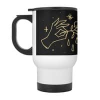 The Black Flower - travel-mug-with-handle - small view
