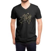 The Black Flower - vneck - small view