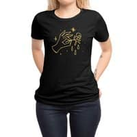 The Black Flower - womens-regular-tee - small view