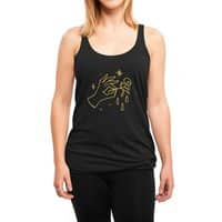 The Black Flower - womens-triblend-racerback-tank - small view