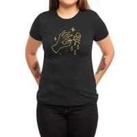 The Black Flower - womens-triblend-tee - small view