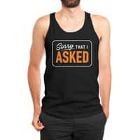 Sorry I Asked - mens-jersey-tank - small view