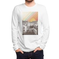 Rainbow Sky Above Paris - mens-long-sleeve-tee - small view