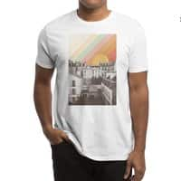 Rainbow Sky Above Paris - mens-regular-tee - small view