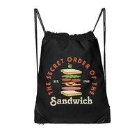 Club Sandwich - drawstring-bag - small view