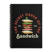 Club Sandwich - spiral-notebook - small view