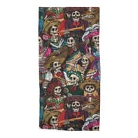 Dia de los Muertos - beach-towel - small view
