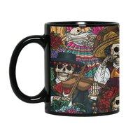 Dia de los Muertos - black-mug - small view