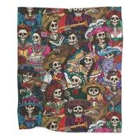Dia de los Muertos - blanket - small view