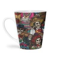 Dia de los Muertos - latte-mug - small view
