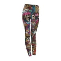 Dia de los Muertos - leggings - small view