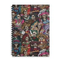 Dia de los Muertos - spiral-notebook - small view