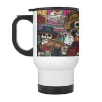 Dia de los Muertos - travel-mug-with-handle - small view