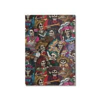 Dia de los Muertos - vertical-mounted-aluminum-print - small view