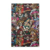 Dia de los Muertos - vertical-stretched-canvas - small view
