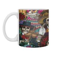 Dia de los Muertos - white-mug - small view